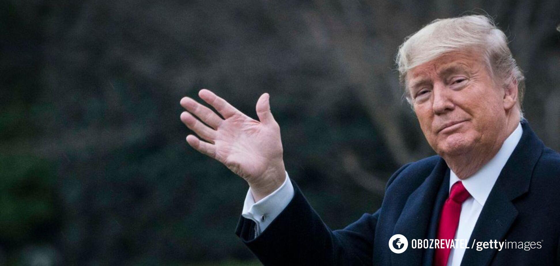 Трамп заявив про запуск власної соцмережі: її відразу зламали. Фото
