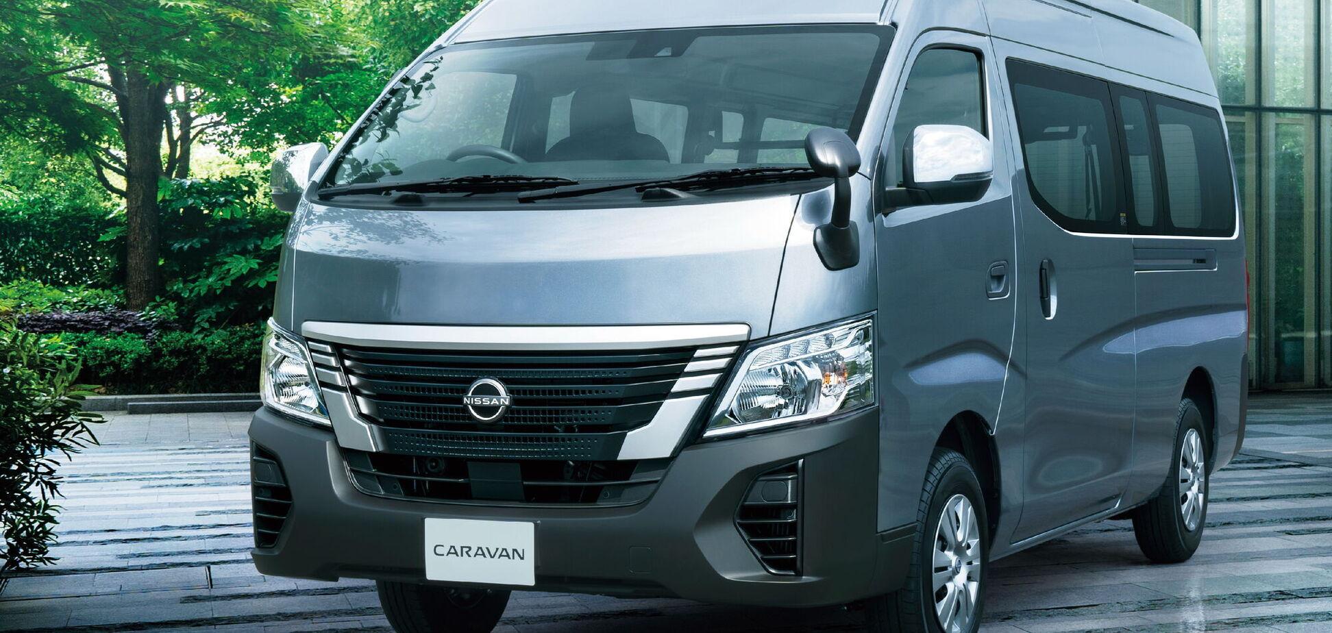 Nissan оновив популярний мінівен Caravan