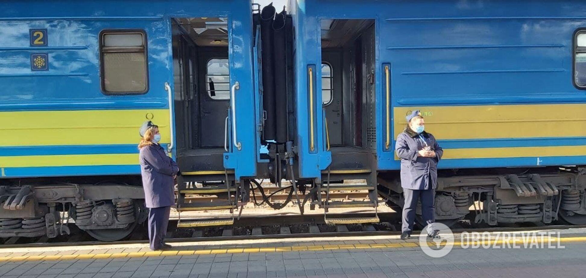 На залізничному вокзалі Києва через карантин почали діяти нові правила перевезення
