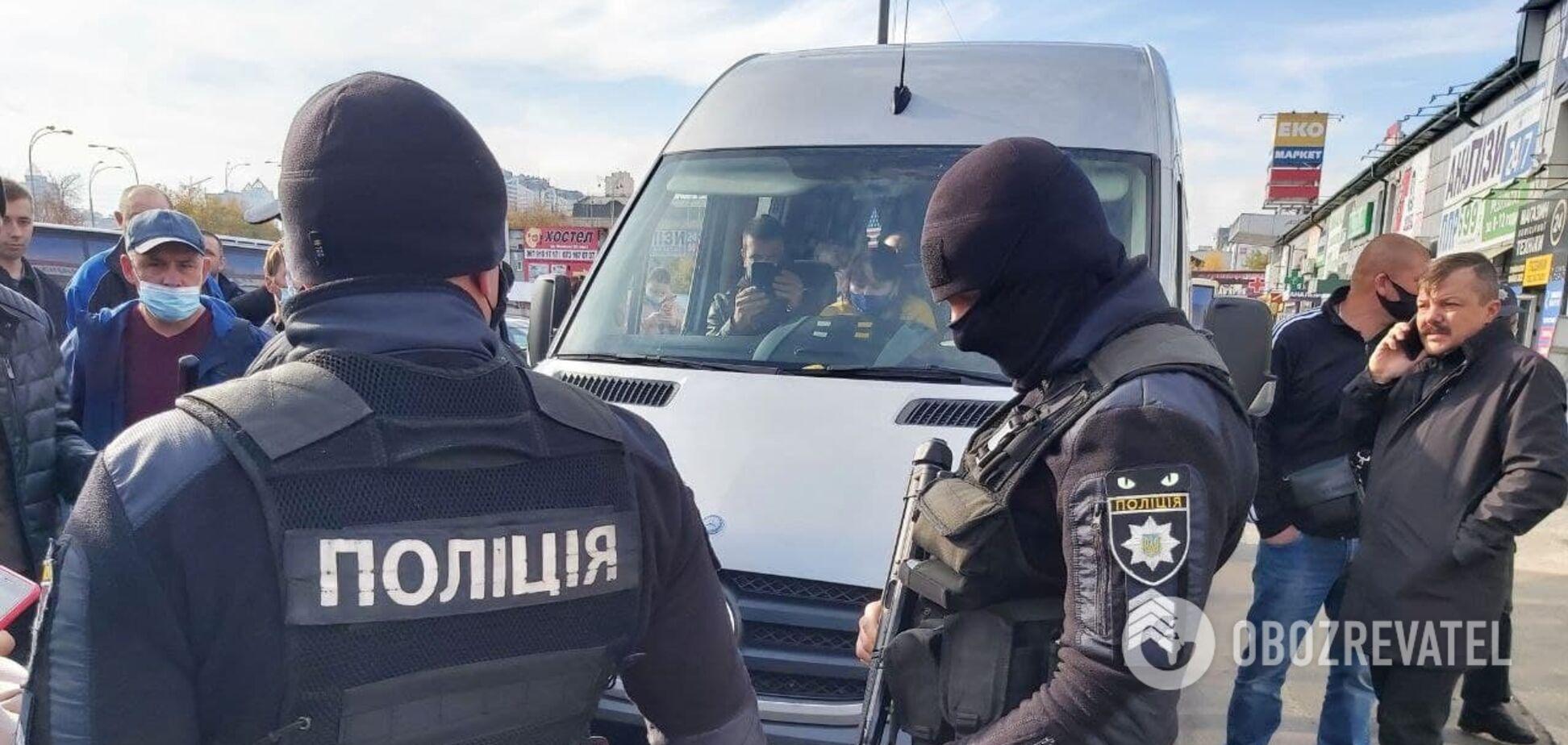 Перевірки сертифікатів і тестів на автовокзалі Києва