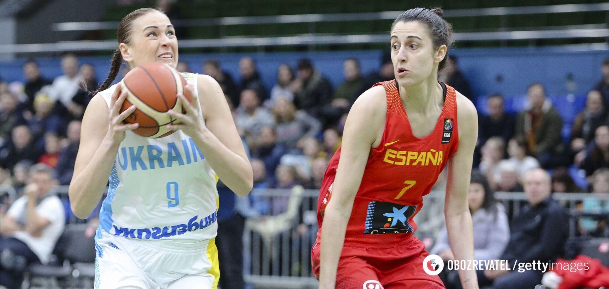 Жіноча збірна України назвала склад на відбіркові матчі ЧЄ з баскетболу