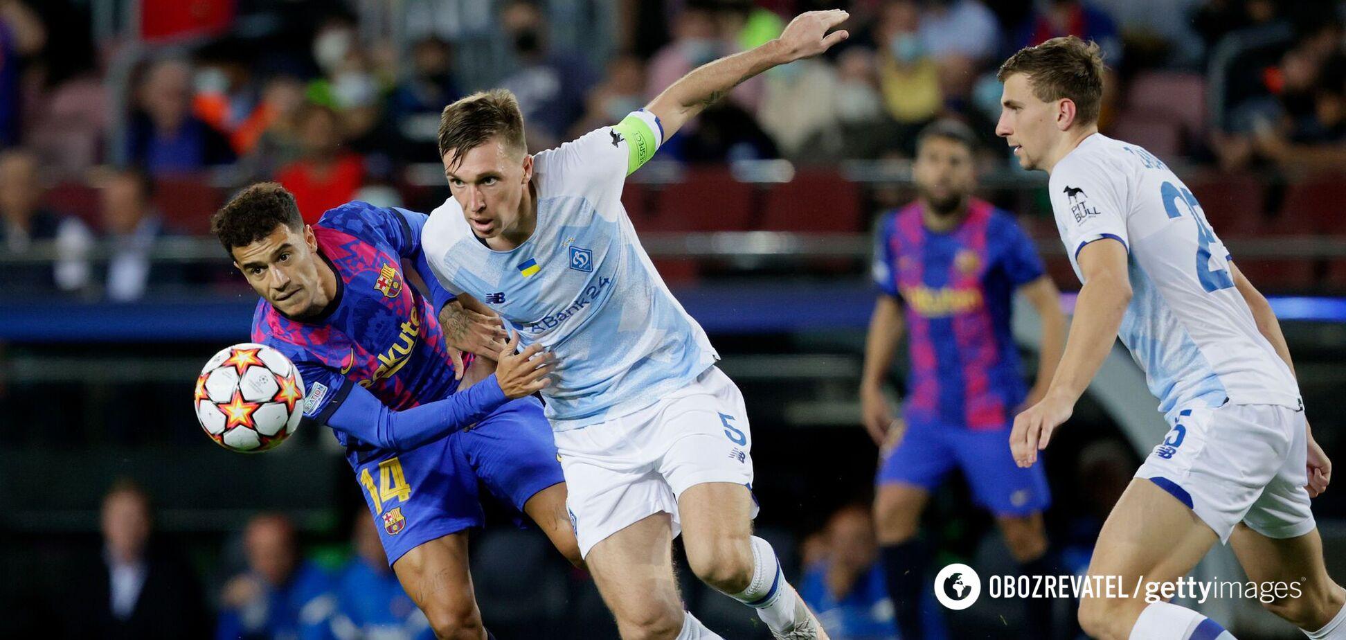 'Ми отримували задоволення': Сидорчук оцінив гру 'Динамо' з 'Барселоною'