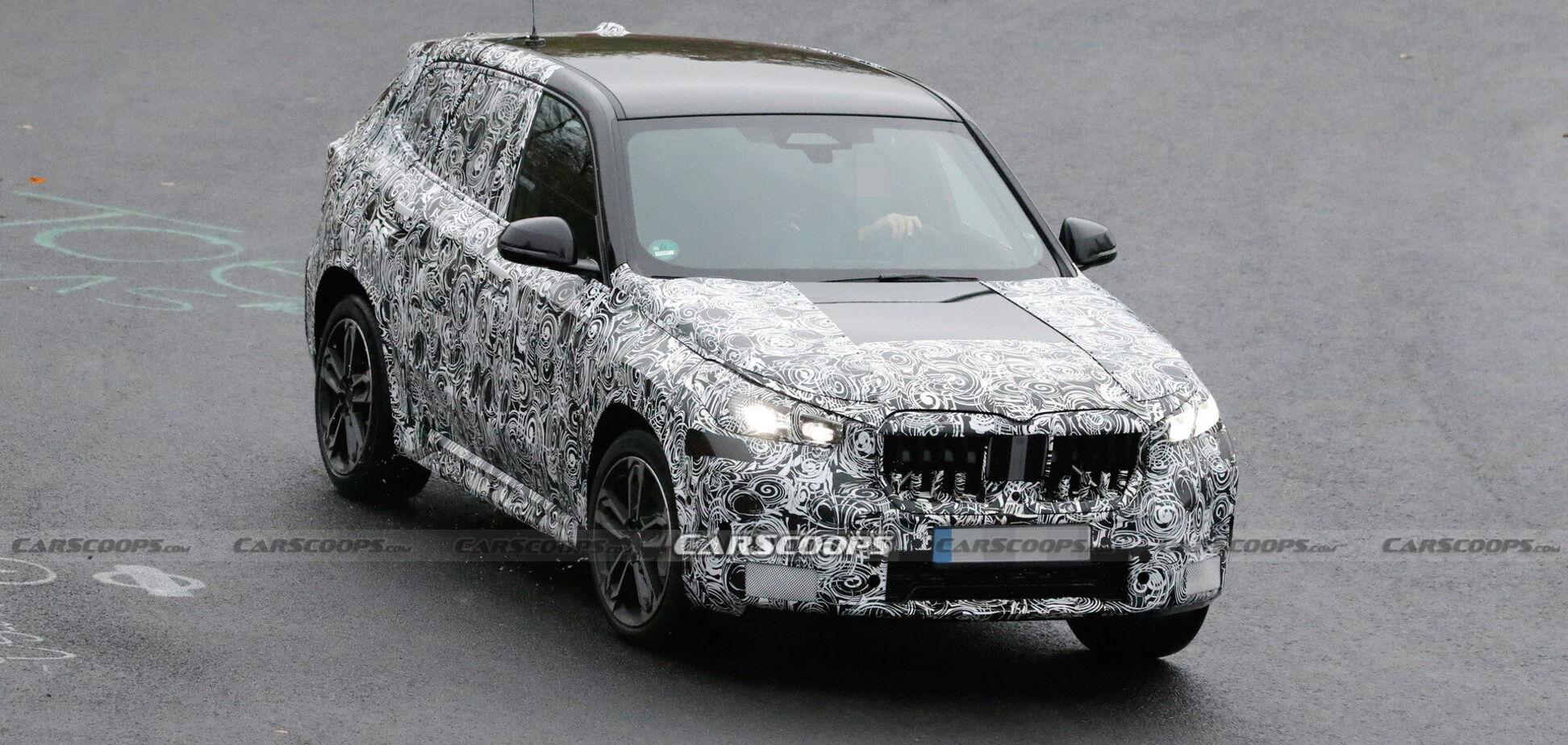 BMW готує 'заряджений' кросовер X1