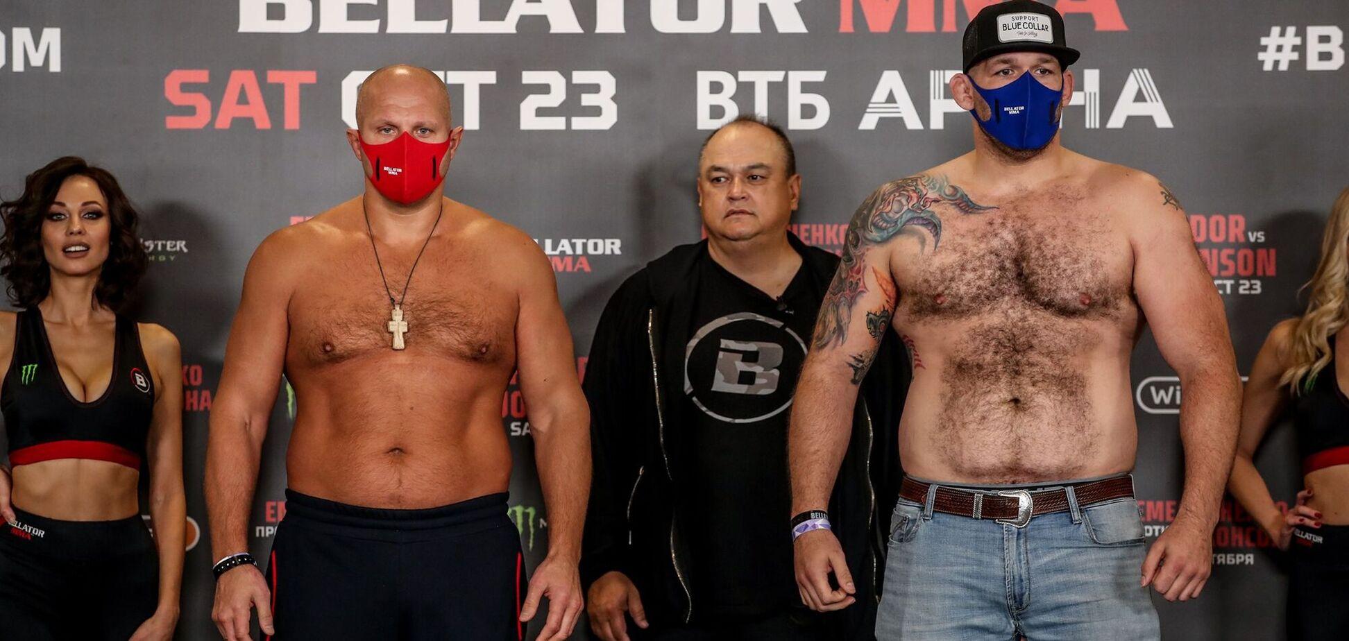 Ємельяненко – Джонсон: онлайн-трансляція головного бою Bellator 269
