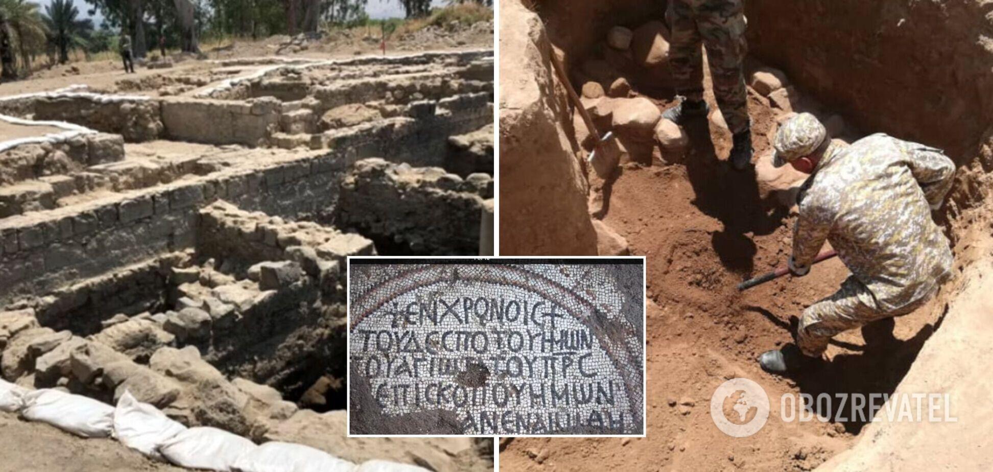 Археологи обнаружили руины затерянной церкви Апостолов, которой 1500 лет. Фото