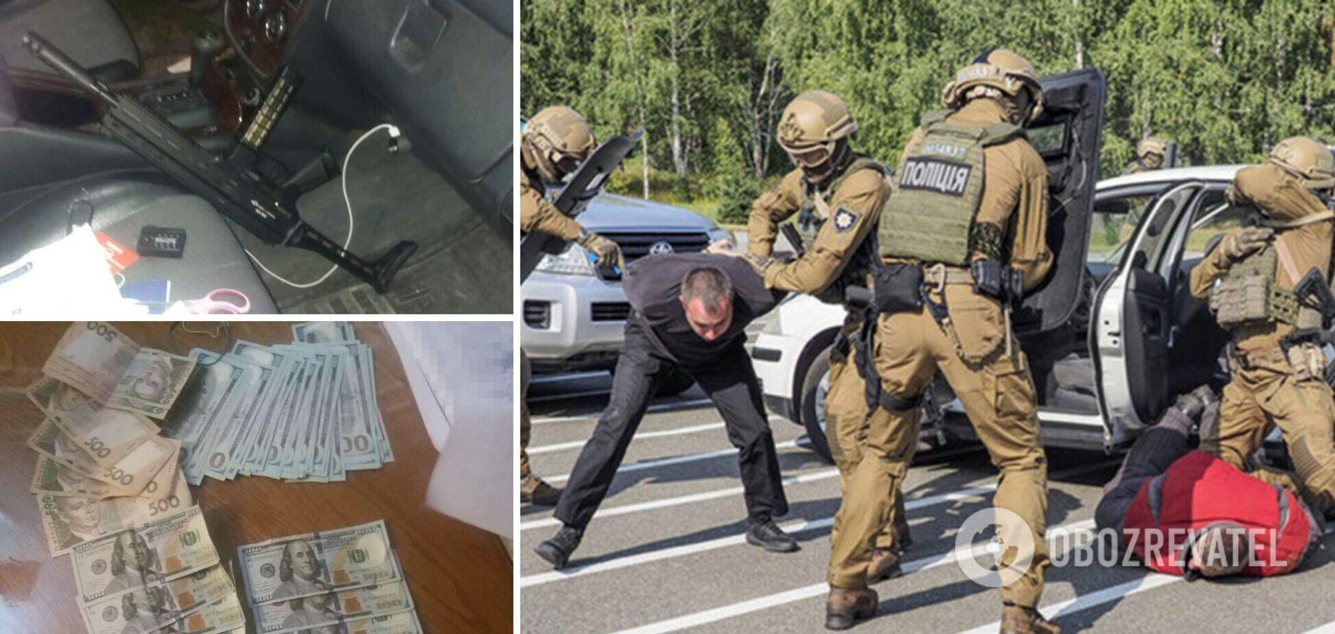 На Закарпатті затримали кримінального авторитета і його спільника: погрожували чоловікові і вимагали 120 тис. доларів. Фото