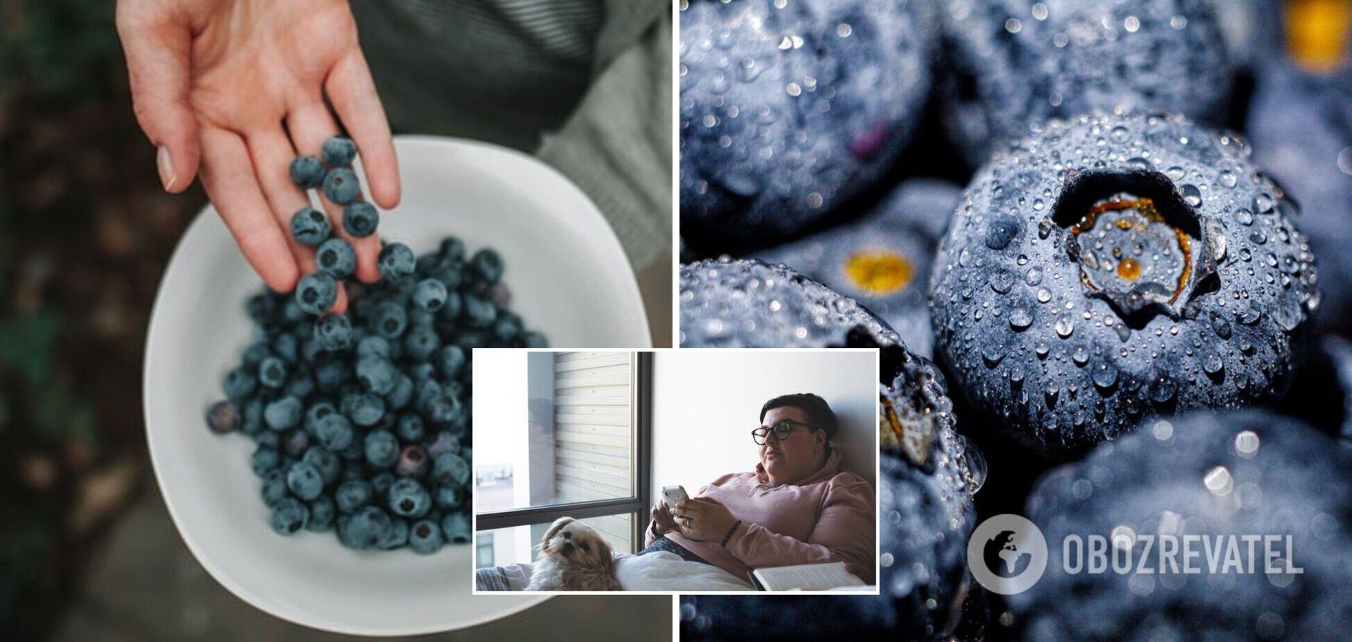 Вживання чорниці може сприяти схудненню: результати дослідження