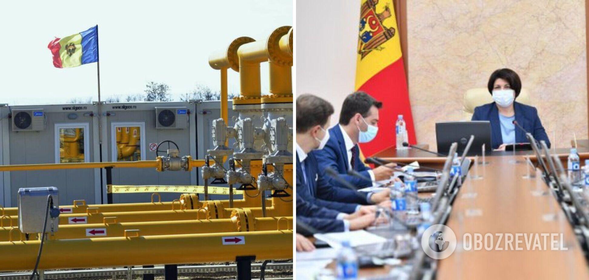 В Молдове ввели чрезвычайное положение из-за газового кризиса