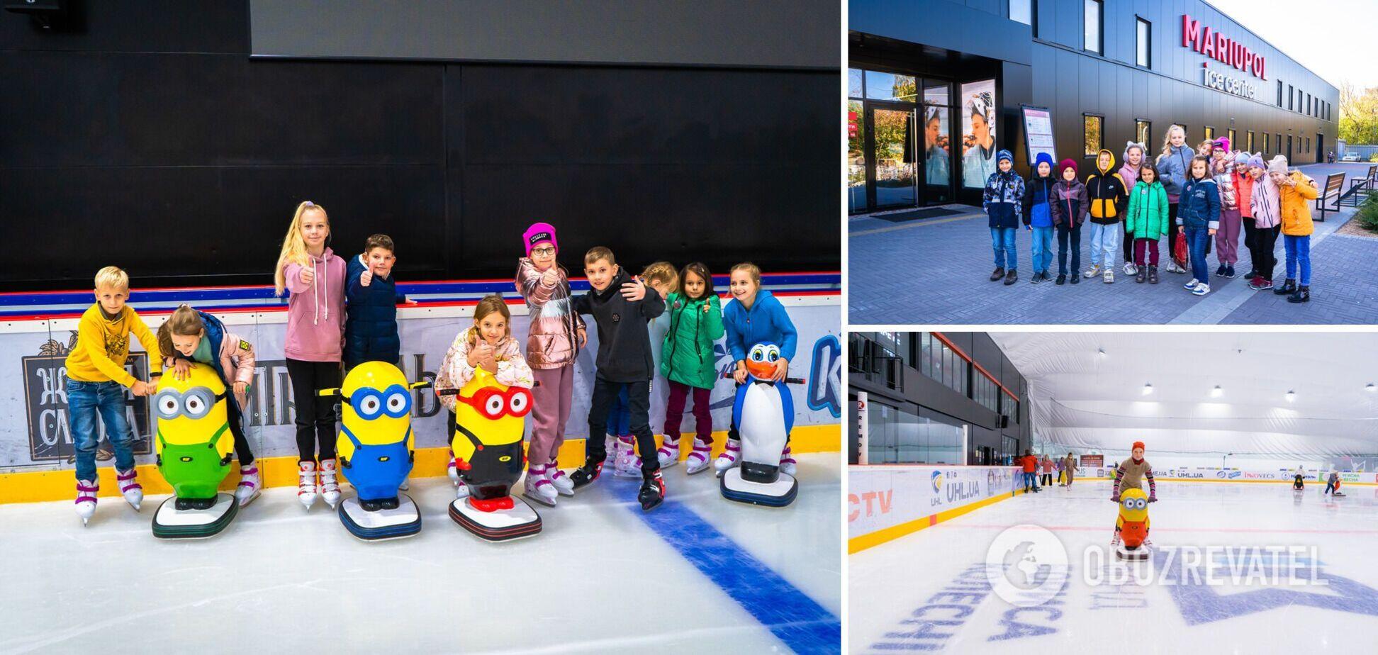 За рік роботи льодова арена в Маріуполі стала центром активного сімейного відпочинку та спортивного дозвілля