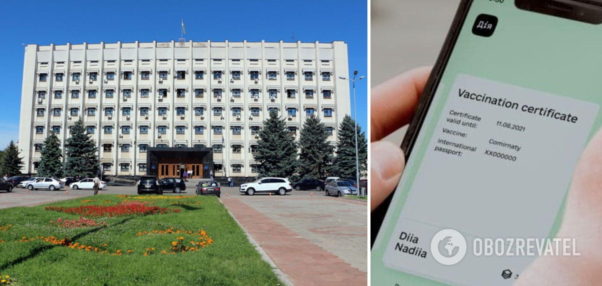 Депутат не хотел показывать COVID-сертификат