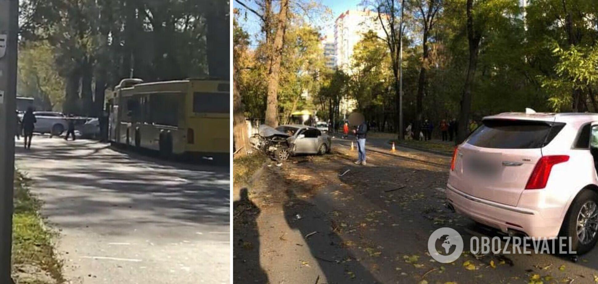 Через аварію тимчасово перекривали рух на місці події