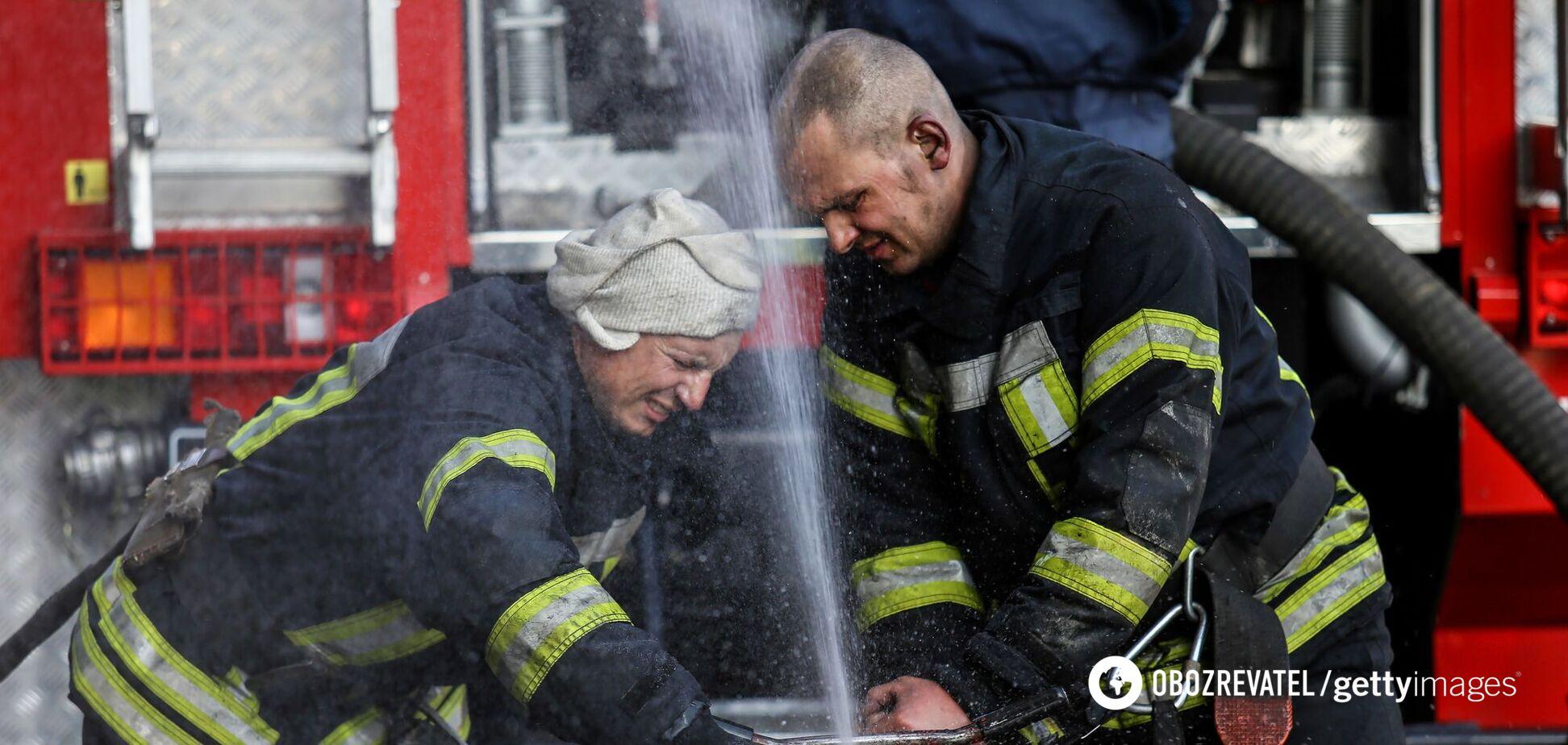 Рятувальники оперативно приступили до гасіння вогню