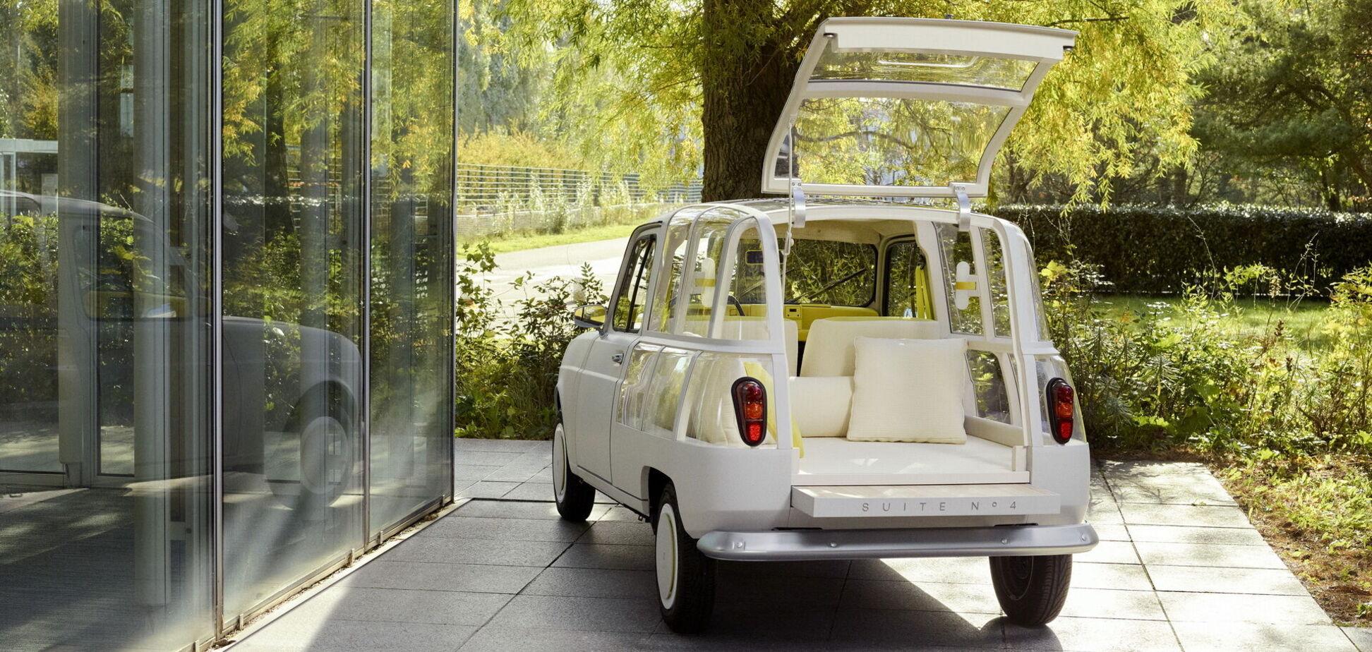 Дизайнер перетворив ретрокар Renault на готельний 'люкс'