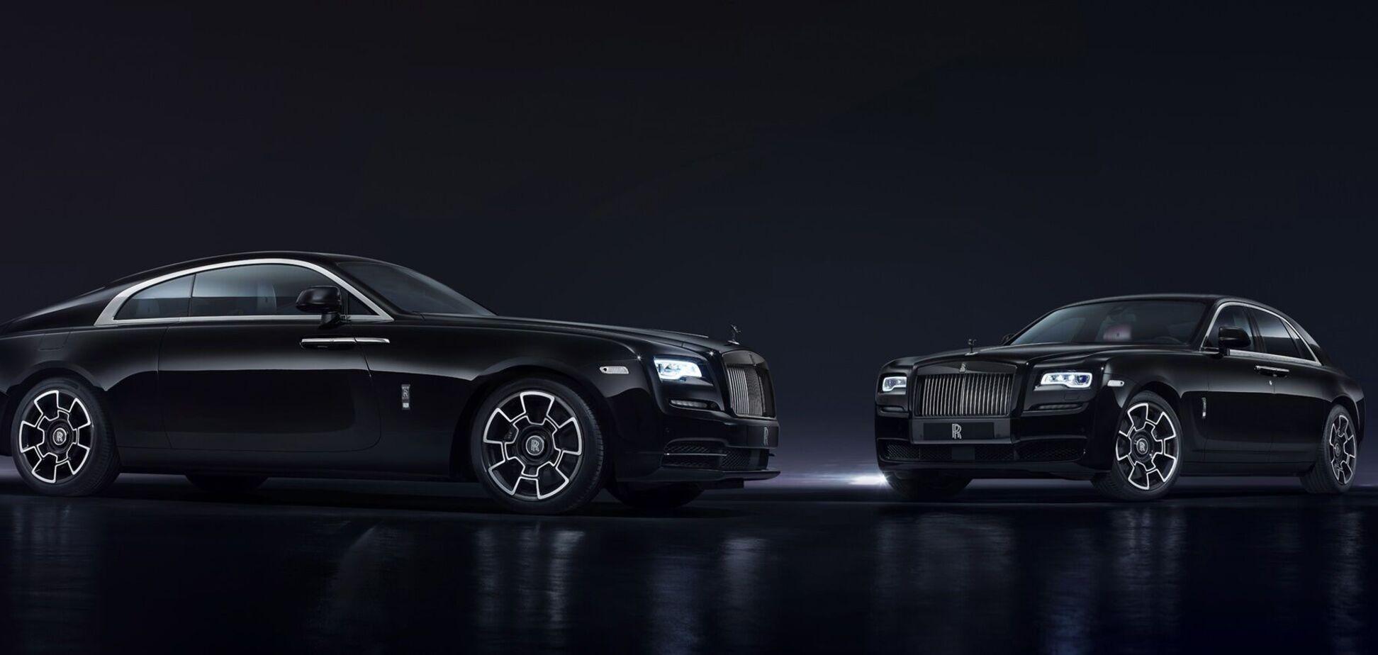 Rolls-Royce анонсував 'Чорного привида'