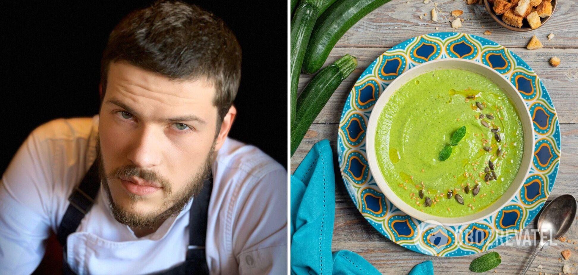 Григорій Звіргдже поділився рецептом смачного супу