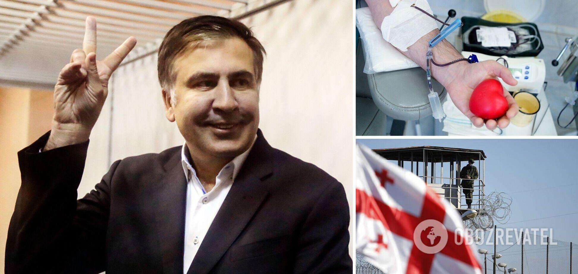 Саакашвілі зробили переливання крові: лікар розповів про стан політика