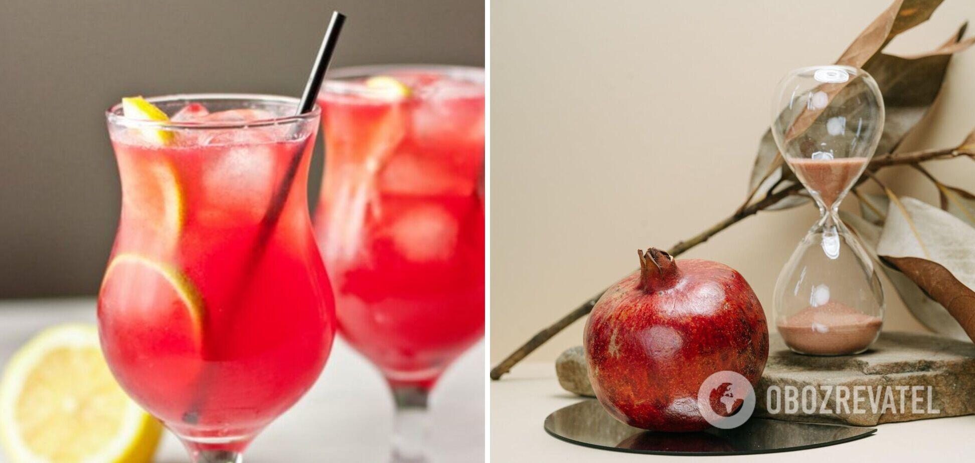 Как приготовить гренадин для коктейлей в домашних условиях: идея от фудблогера