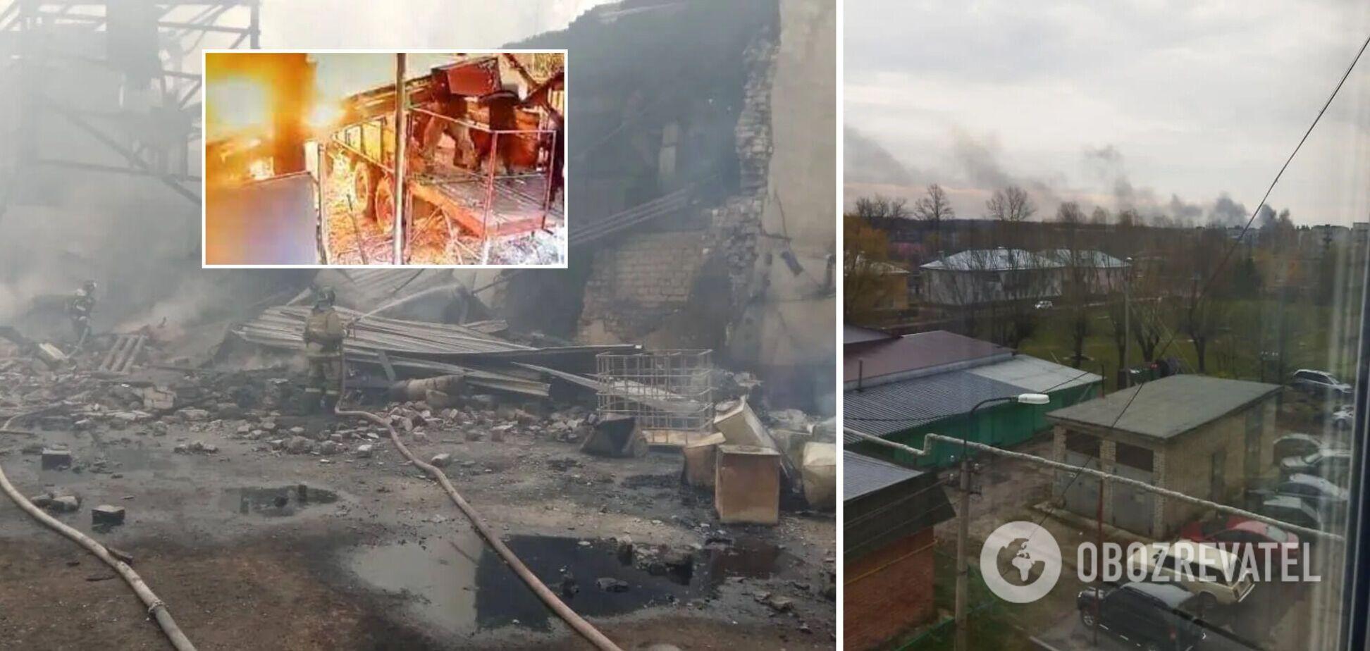 Вибух на пороховому заводі в Росії потрапив на відео: загинули всі працівники зміни
