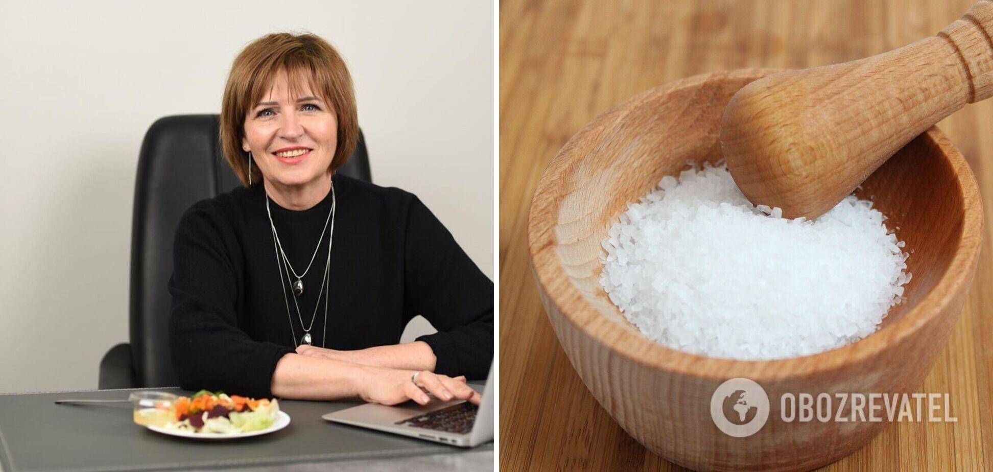 Светлана Фус назвала безопасную норму соли в день