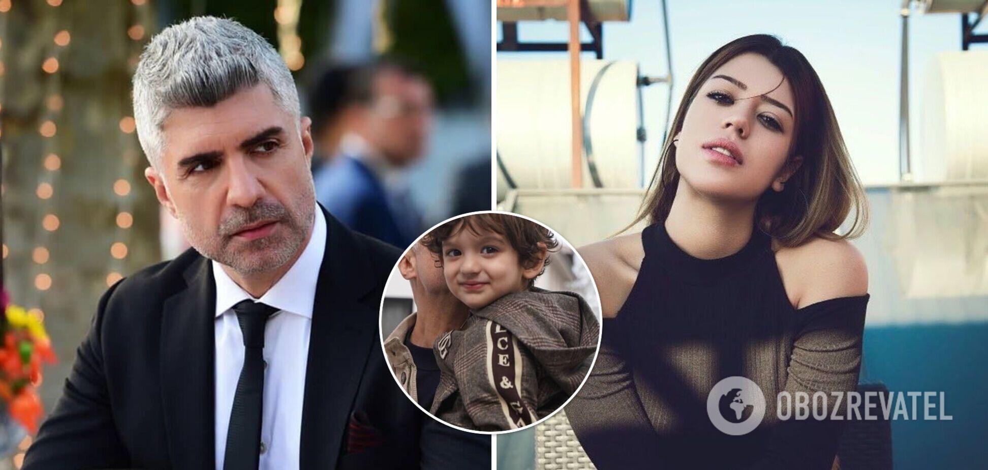Звезду турецких сериалов побила экс-жена на глазах у 3-летнего сына
