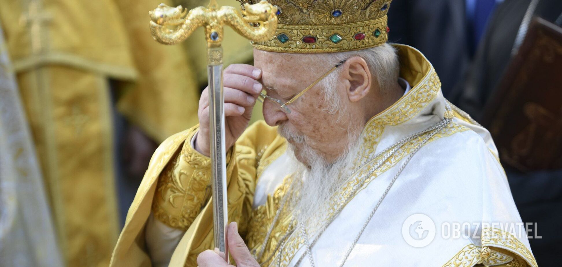 В США госпитализирован патриарх Варфоломей: в ПЦУ сообщили подробности