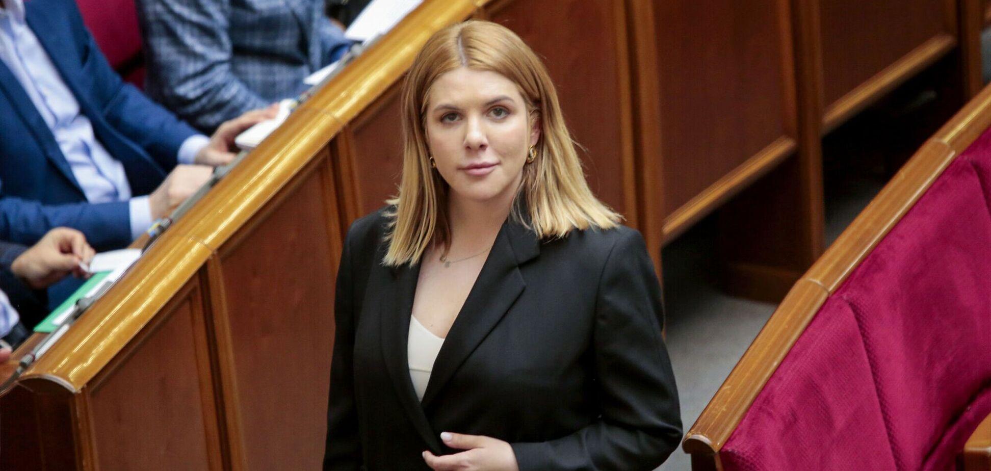 Кіра Рудик закликала Зеленського ветувати скандальний закон про олігархів