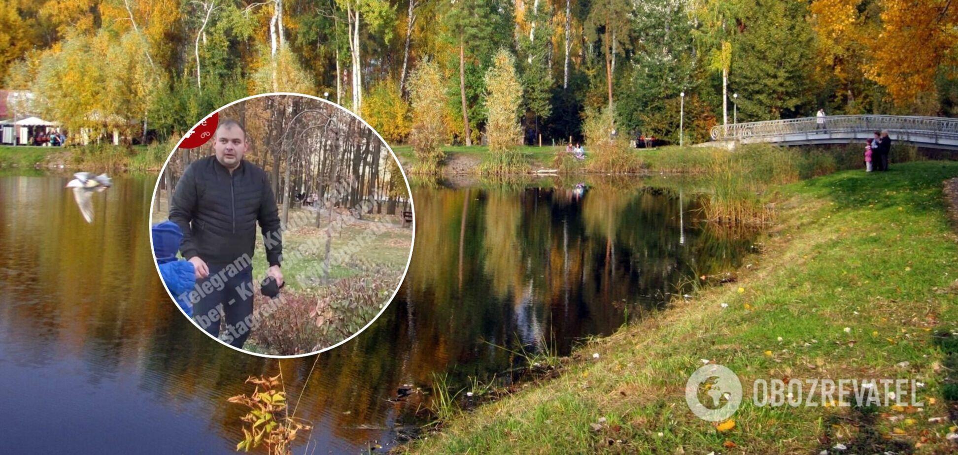 У Києві поліцейський врятував дитину, що потопала: з'явилося відео героїчного вчинку