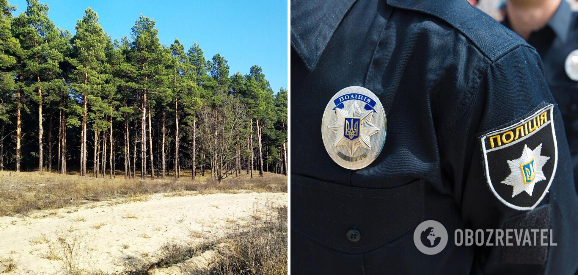 У лісі на Херсонщині знайшли повішеним патрульного поліцейського