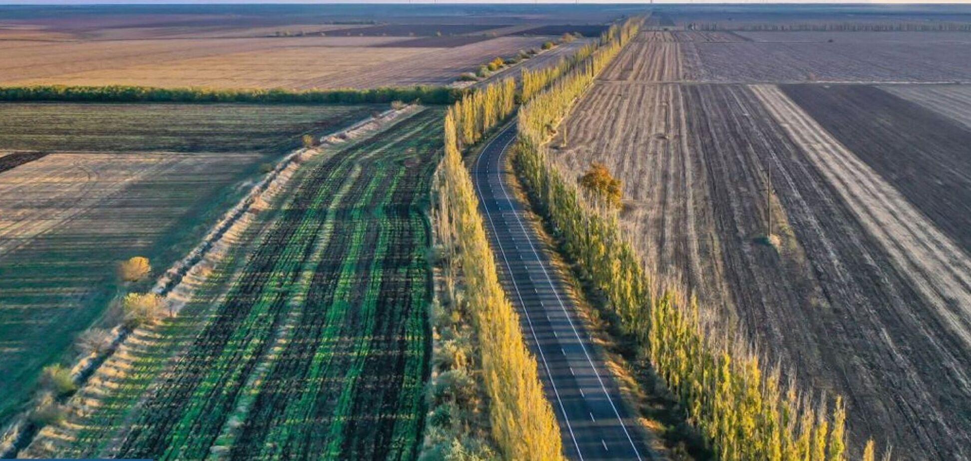 'Велике будівництво' Зеленського повністю відновило дорогу до Очакова на березі Чорного моря