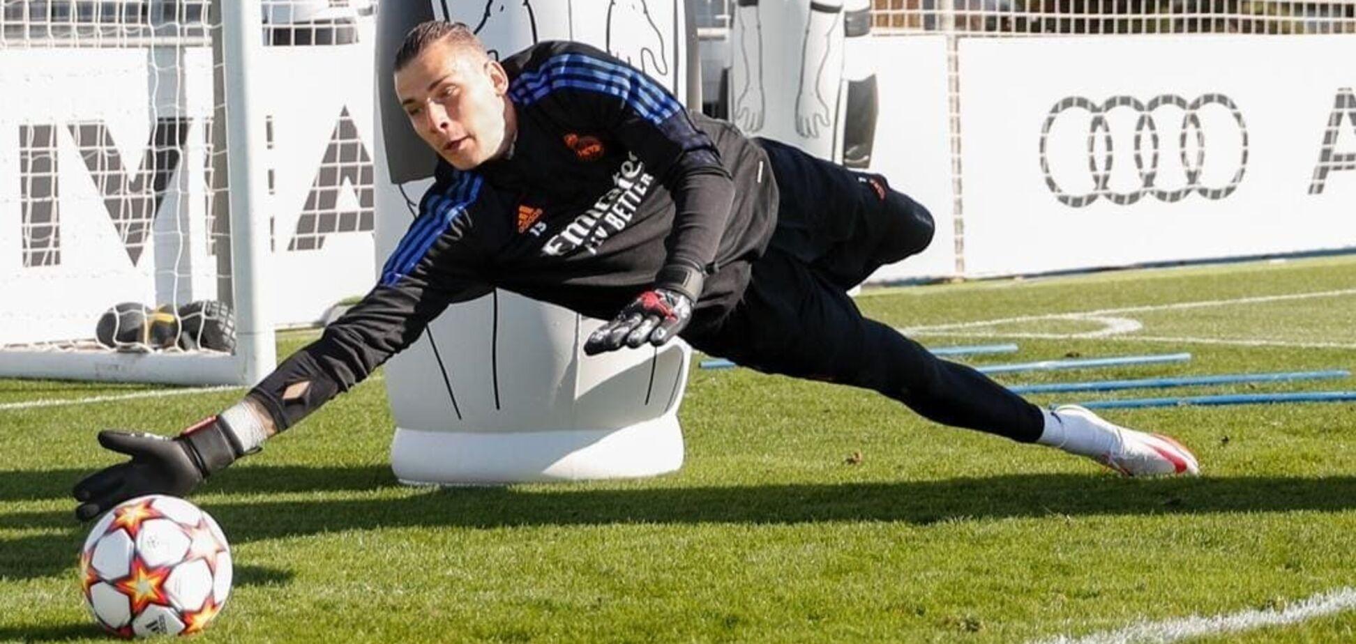 Українець у 'Реалі' отримає шанс: основний воротар травмований