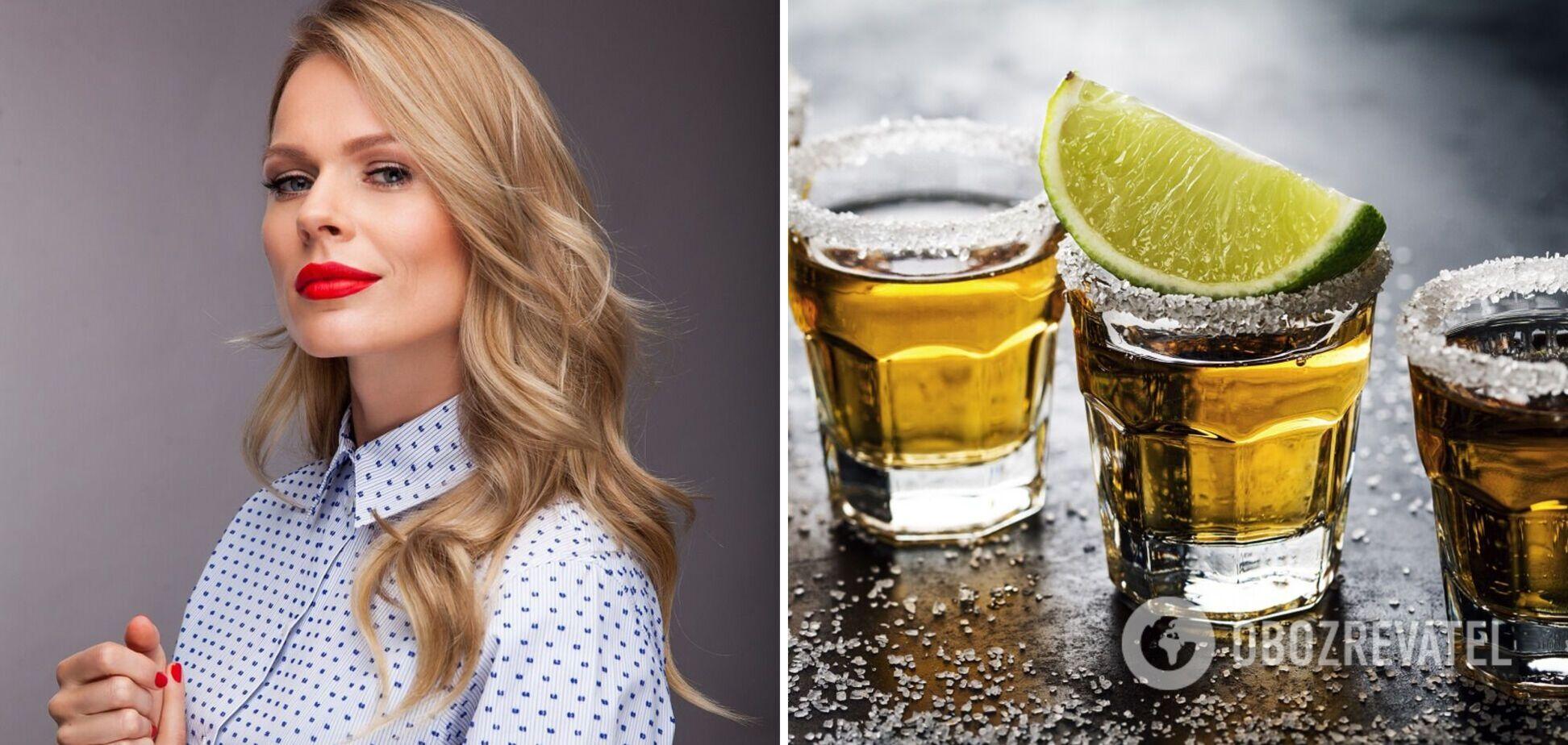 Ольга Фреймут розповіла, які напої не п'ють справжні леді