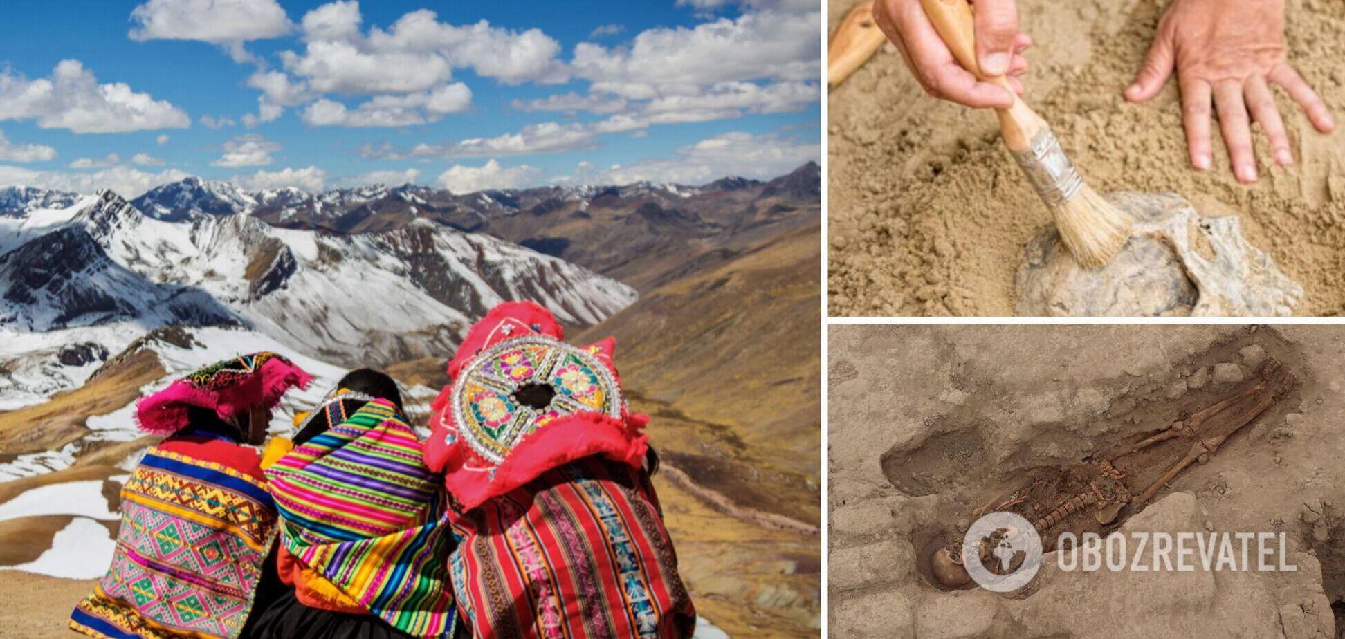 Археологи знайшли в Перу храм із десятками гробниць, яким понад 1000 років. Фото