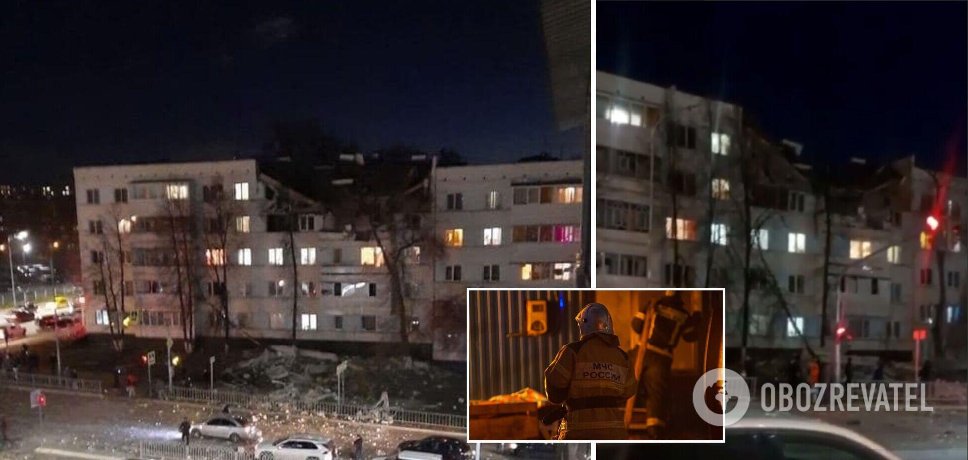 У Росії вибухнула багатоповерхівка: є загиблі й постраждалі. Фото і відео