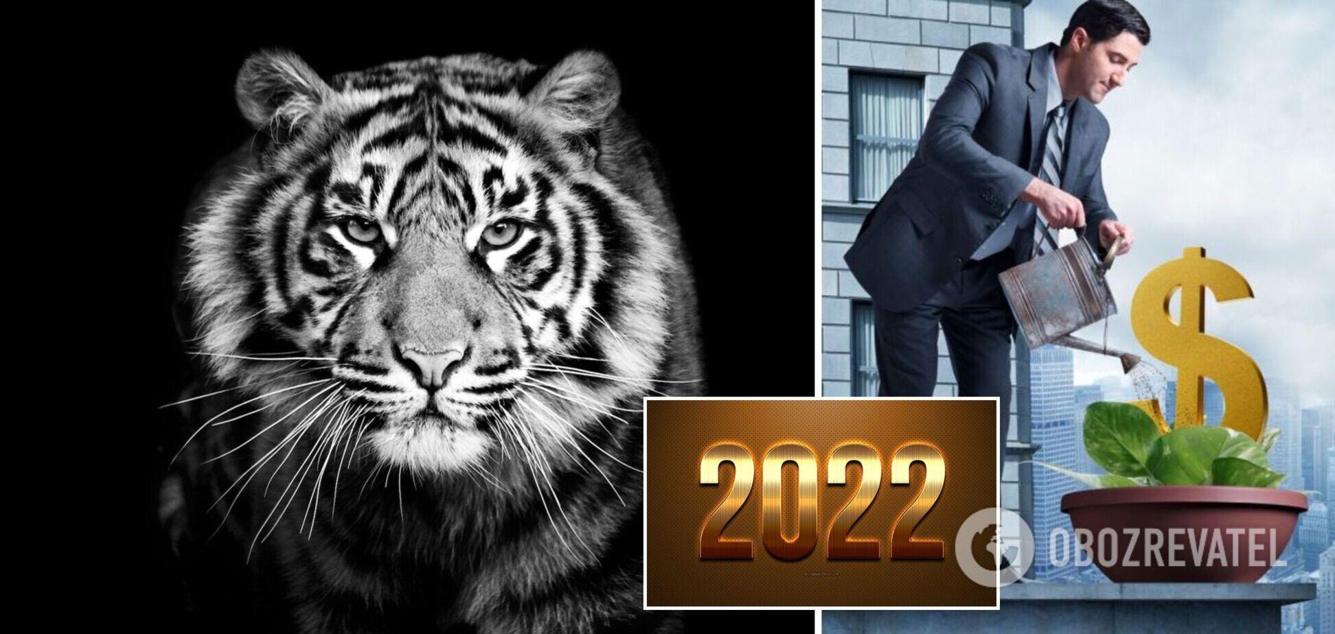 Чорний Тигр принесе фінансовий успіх чотирьом знакам зодіаку: можуть навіть розбагатіти