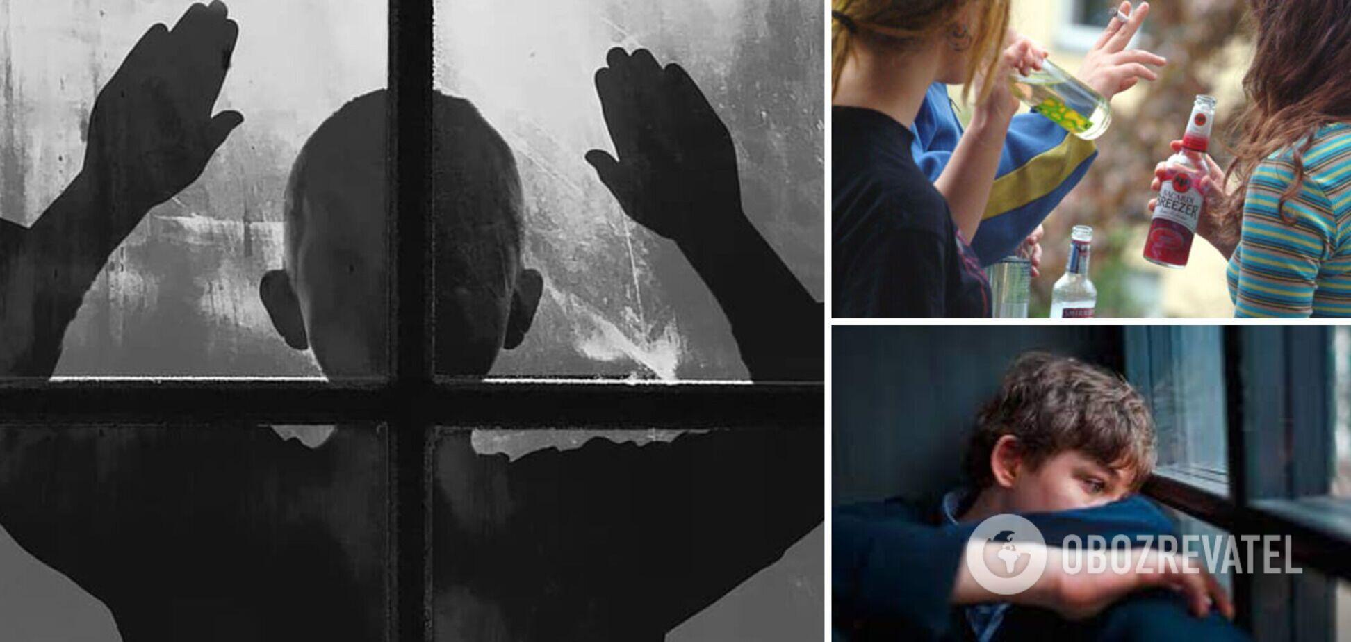 В Україні знизився вік дітей, які здійснюють суїцидальні спроби