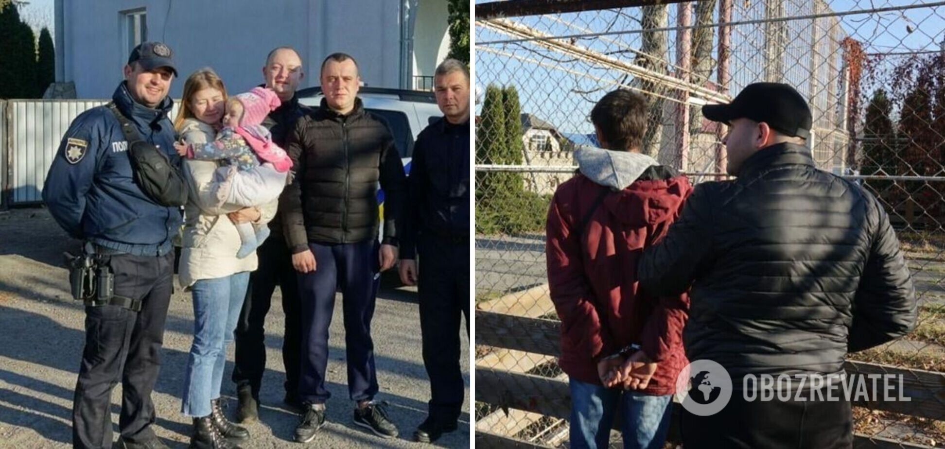 Полицейские нашли похищенную во Львове 9-месячную девочку: ребенка вывезли в другую область. Фото