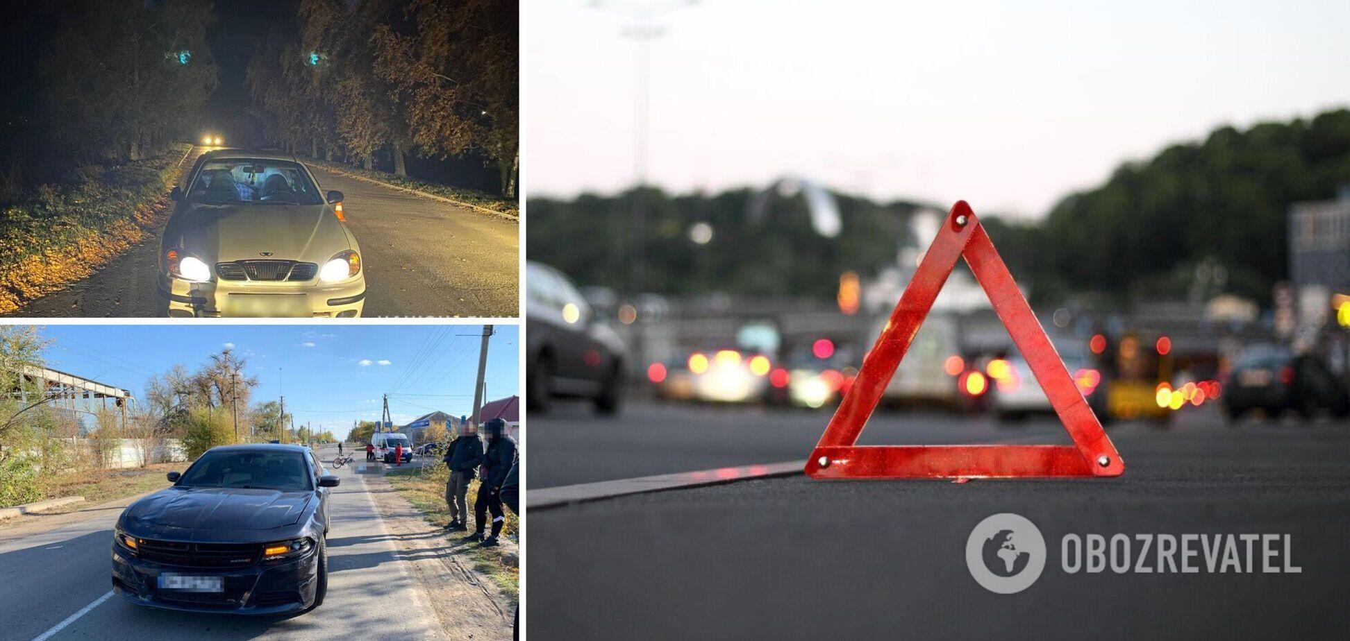 У Києві авто влетіло у відбійник, а на Полтавщині водій збив на смерть дитину. Головне про ДТП в Україні на 25 жовтня