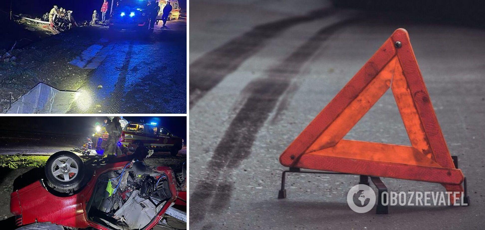 На Тернопільщині в ДТП загинули 22-річна дівчина і 30-річний чоловік. Фото