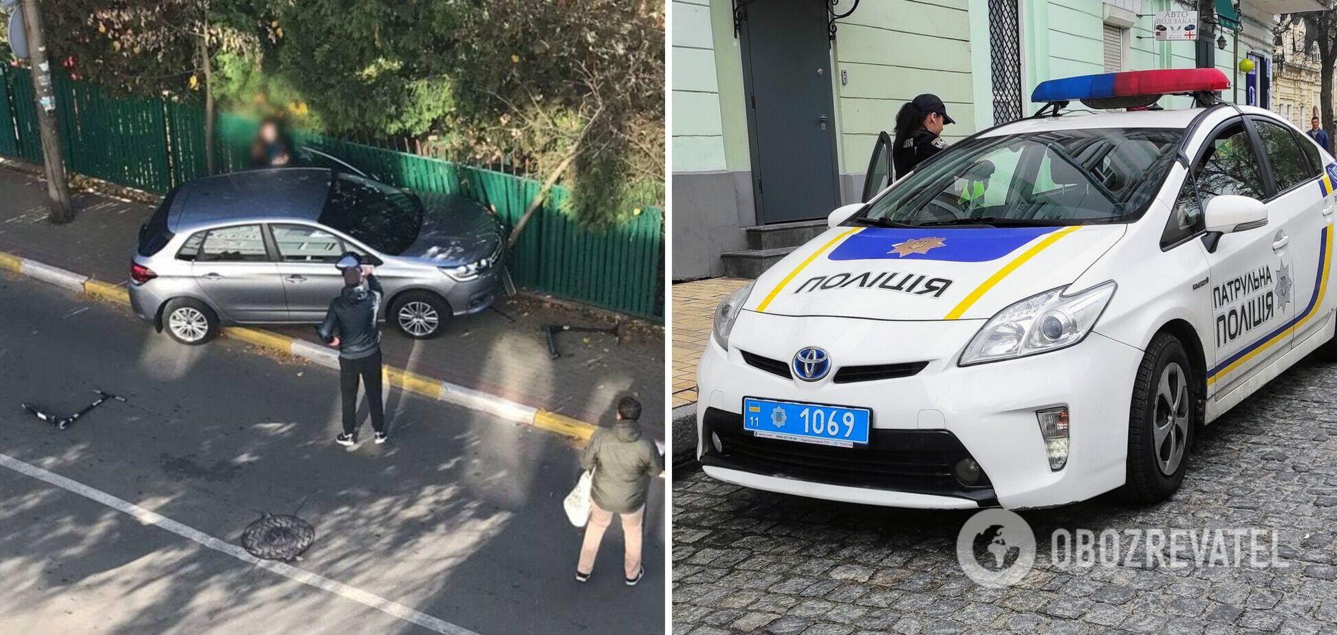 Обставини аварії встановить поліція