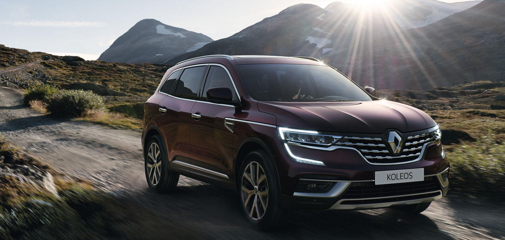 В Україні чекають оновлений Renault Koleos