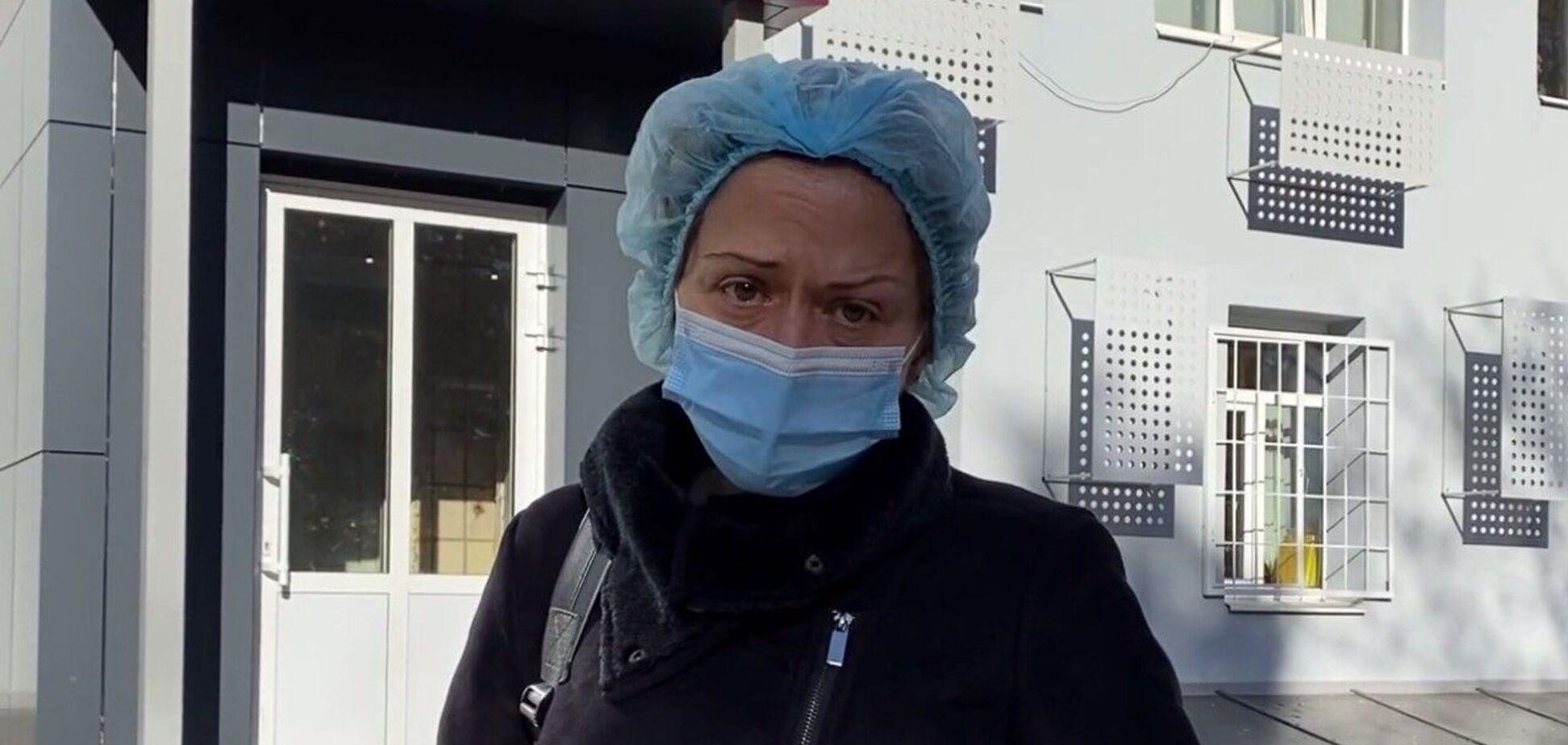 Ситуація з хворими в столичній клінічній лікарні № 3