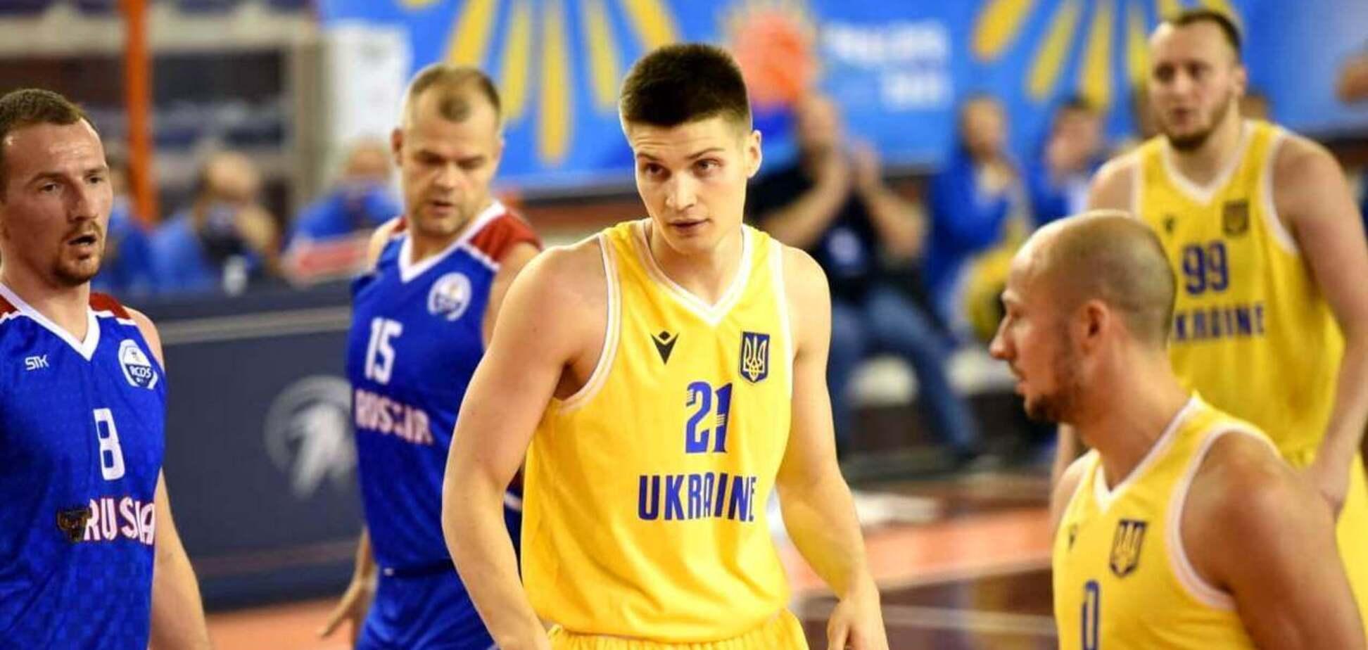 Украинцы победили россиян в финале особого чемпионата Европы по баскетболу
