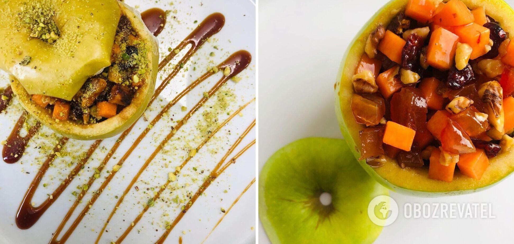 Смачний та корисний гарбузово-яблучний десерт