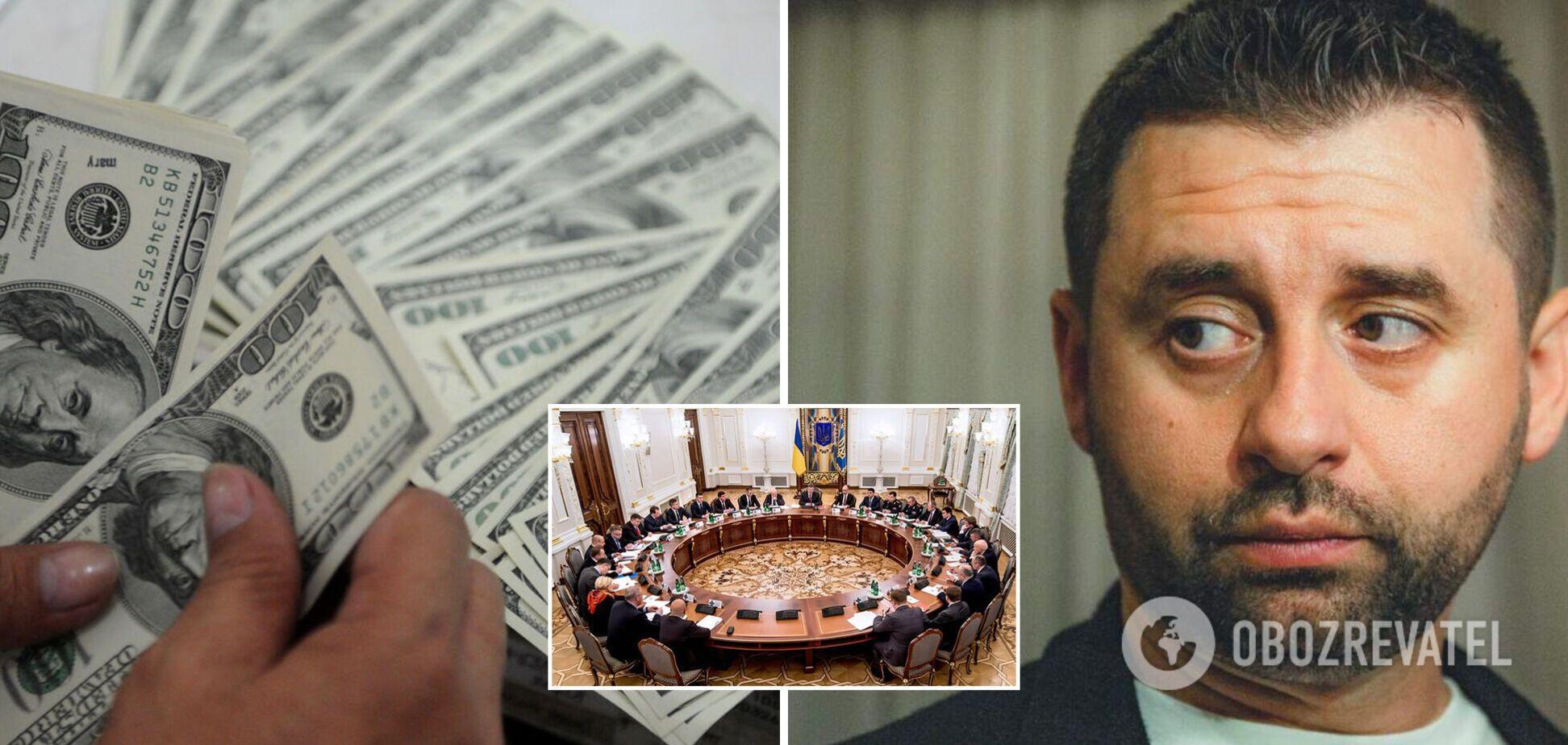За 'ошибки' предлагали до $300 тысяч: Арахамия прокомментировал скандал с санкционными списками СНБО
