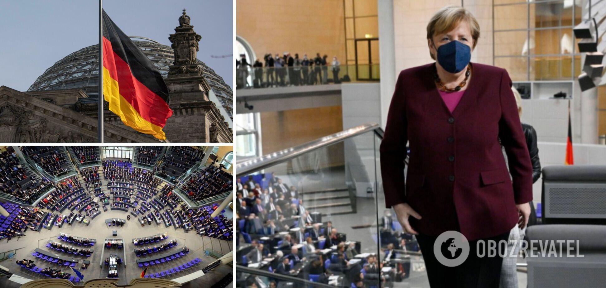 Эпоха Меркель закончилась: в Германии официально приняли отставку фрау канцлерин. Видео