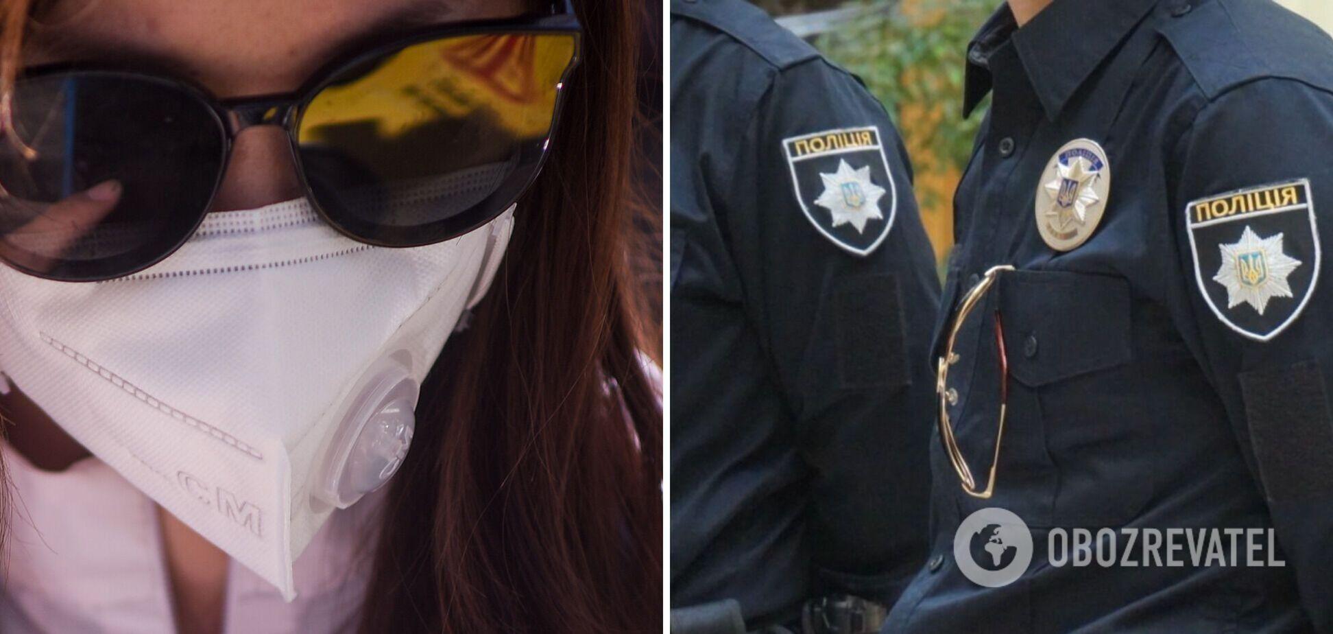 В Україні за місяць жорсткого карантину виписали понад 40 тис. штрафів за відсутність маски: кого і як карали