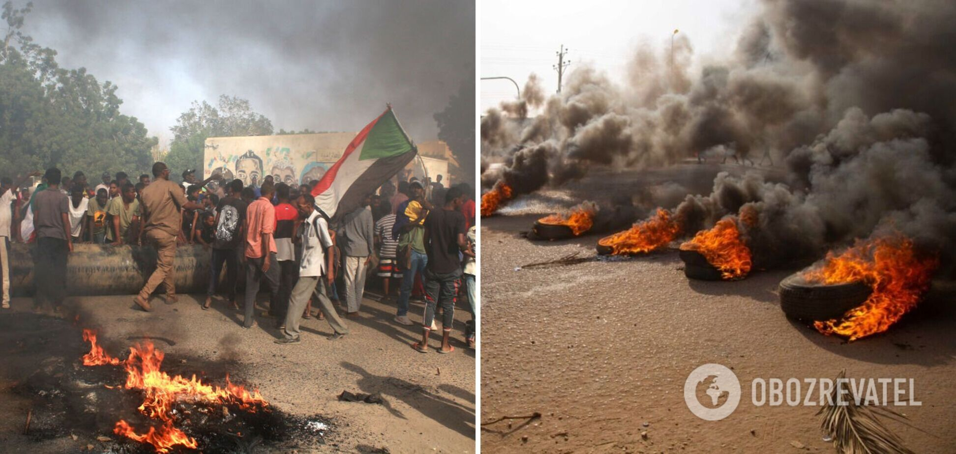Столкновения в Судане
