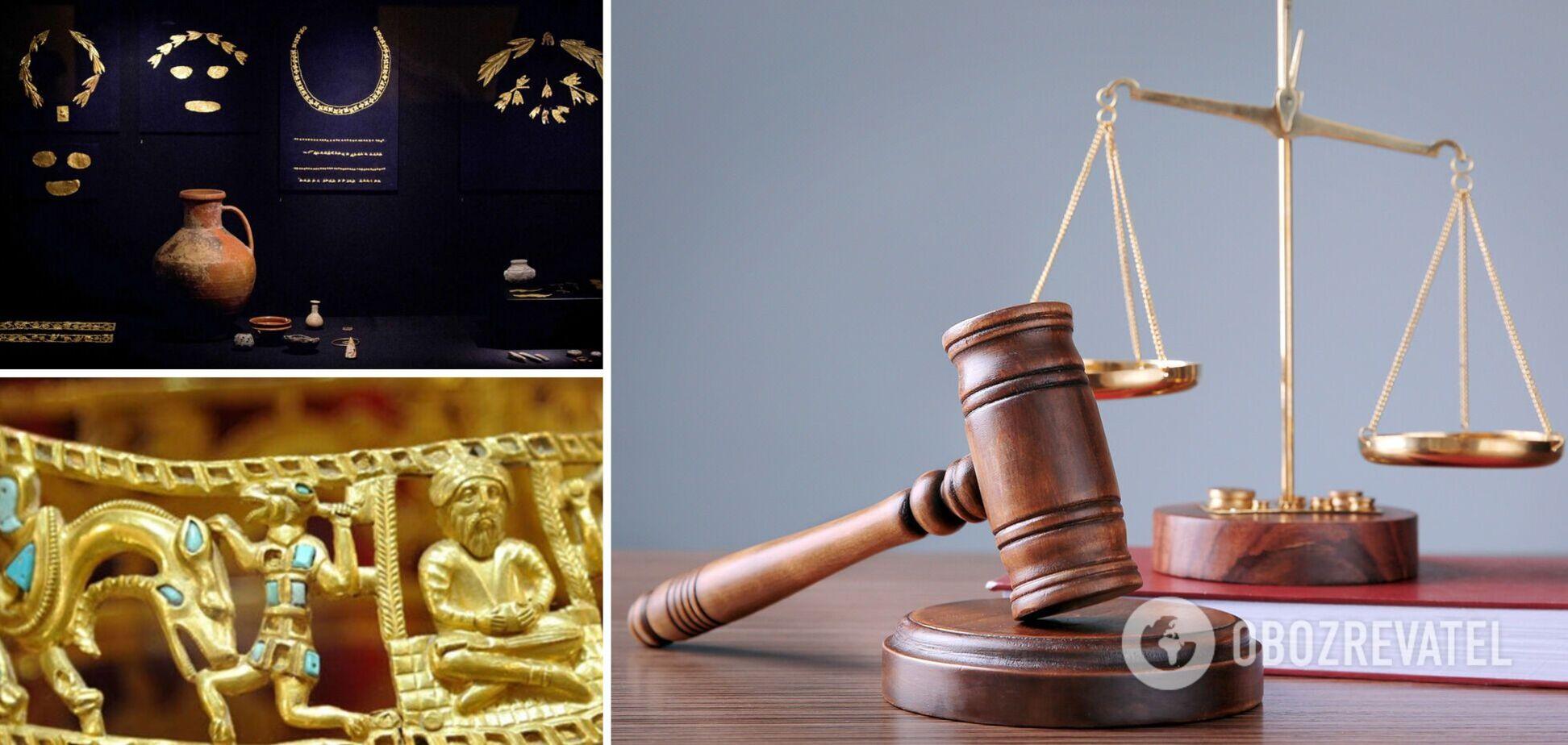 Суд Амстердама постановил передать 'скифское золото' Украине. Все подробности