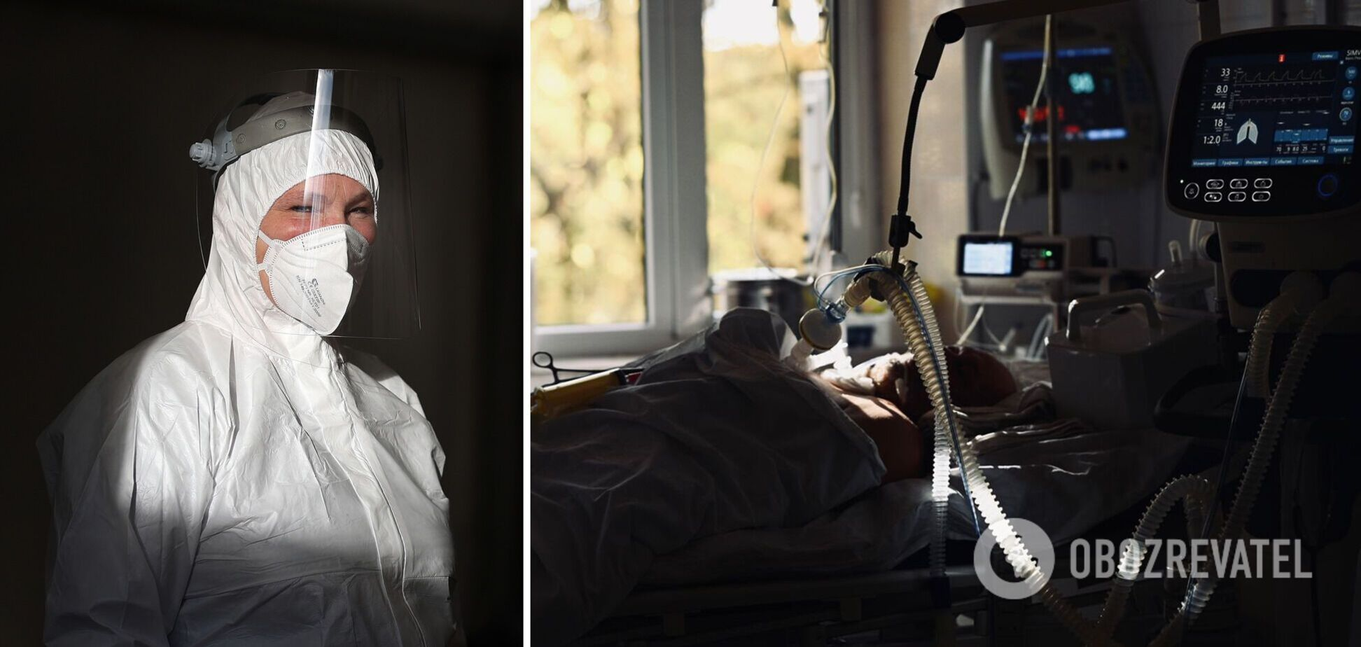 Лише один із десяти пацієнтів на ШВЛ виживає: похмурі фото із COVID-реанімації на Закарпатті
