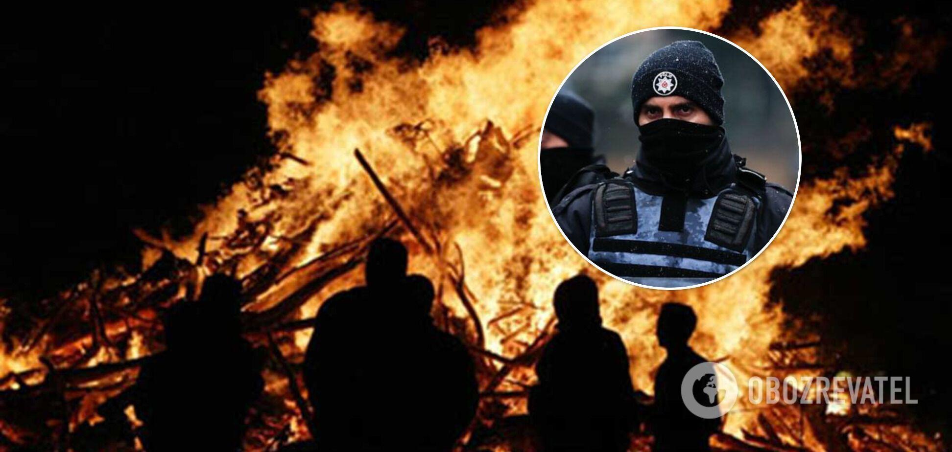 Россия причастна к поджогам лесов в Турции